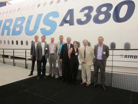 Open Innovation Consortium visits Airbus in Toulouse